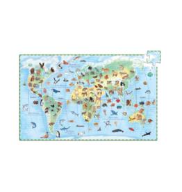 Djeco Djeco World's Animals Puzzle