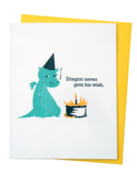 McBitterson's McBitterson's - Dragon Never Gets His Wish Birthday Card