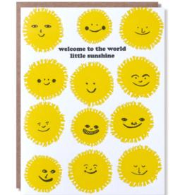 Egg Press Egg Press - Welcome Sunshine Baby Card