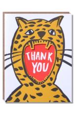 Egg Press Roar Thank You Card