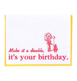 Zeichen Press Zeichen Press - Make it a Double Birthday Card