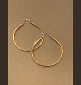 Gretchen Walker Jewelry Gretchen Walker Large Bronze Hoops