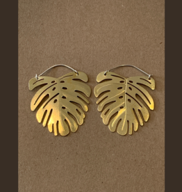 Gretchen Walker Jewelry Gretchen Walker Mostra Leaf Earrings