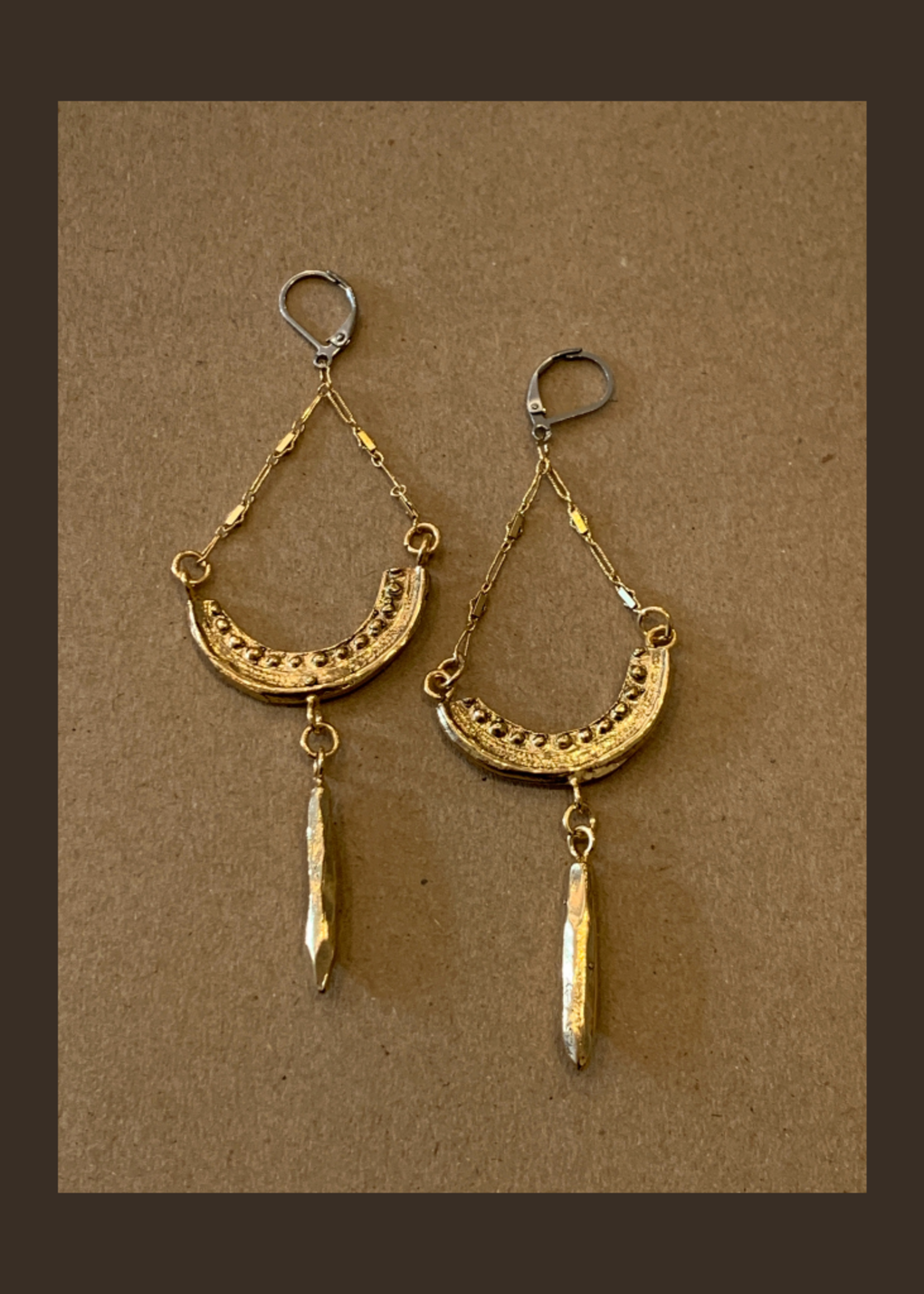 Gretchen Walker Jewelry Golden Light Earrings