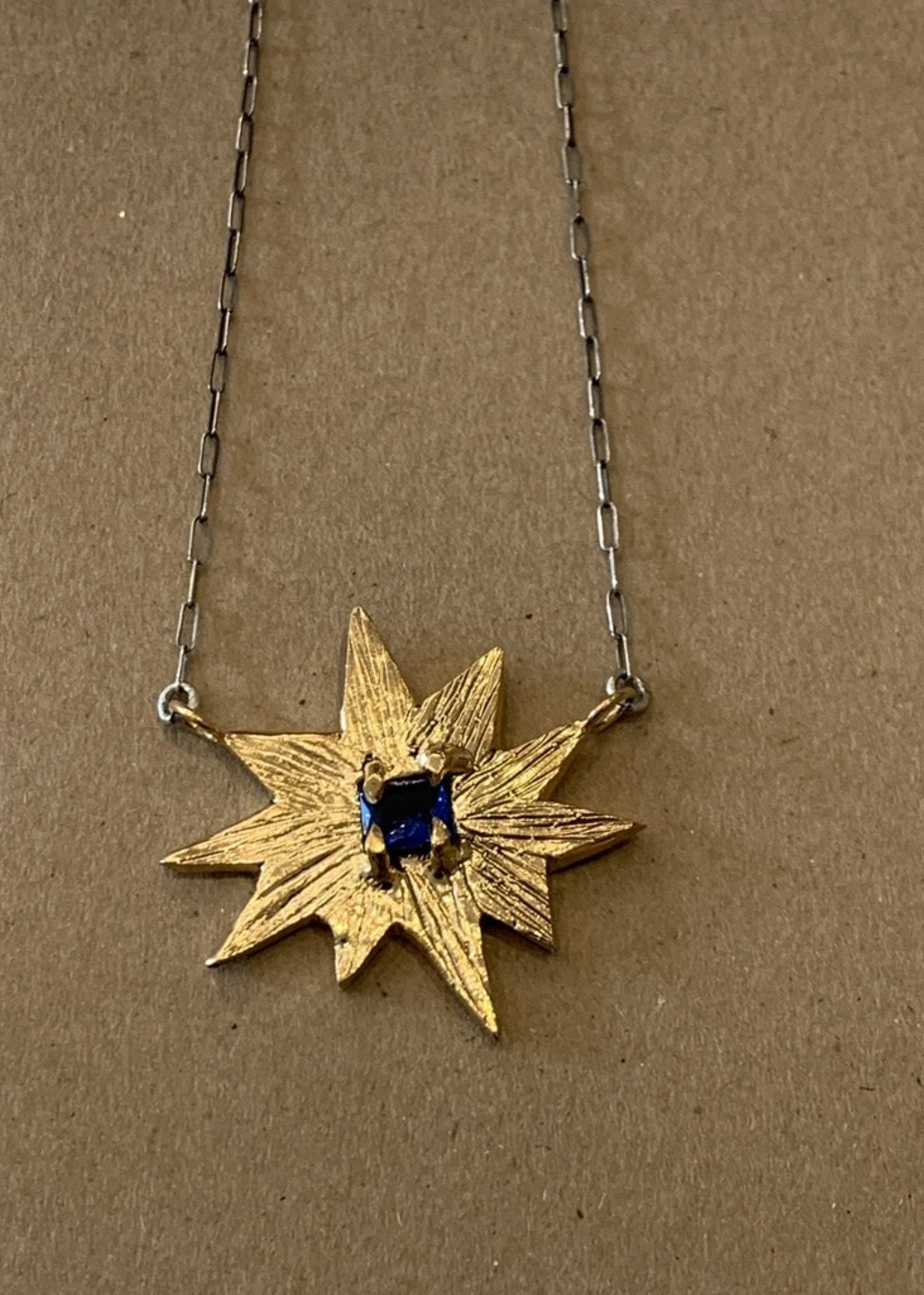 Gretchen Walker Jewelry North Star Necklace w/Blue Sapphire
