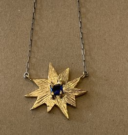 Gretchen Walker Jewelry Gretchen Walker - North Star Necklace w/Blue Sapphire