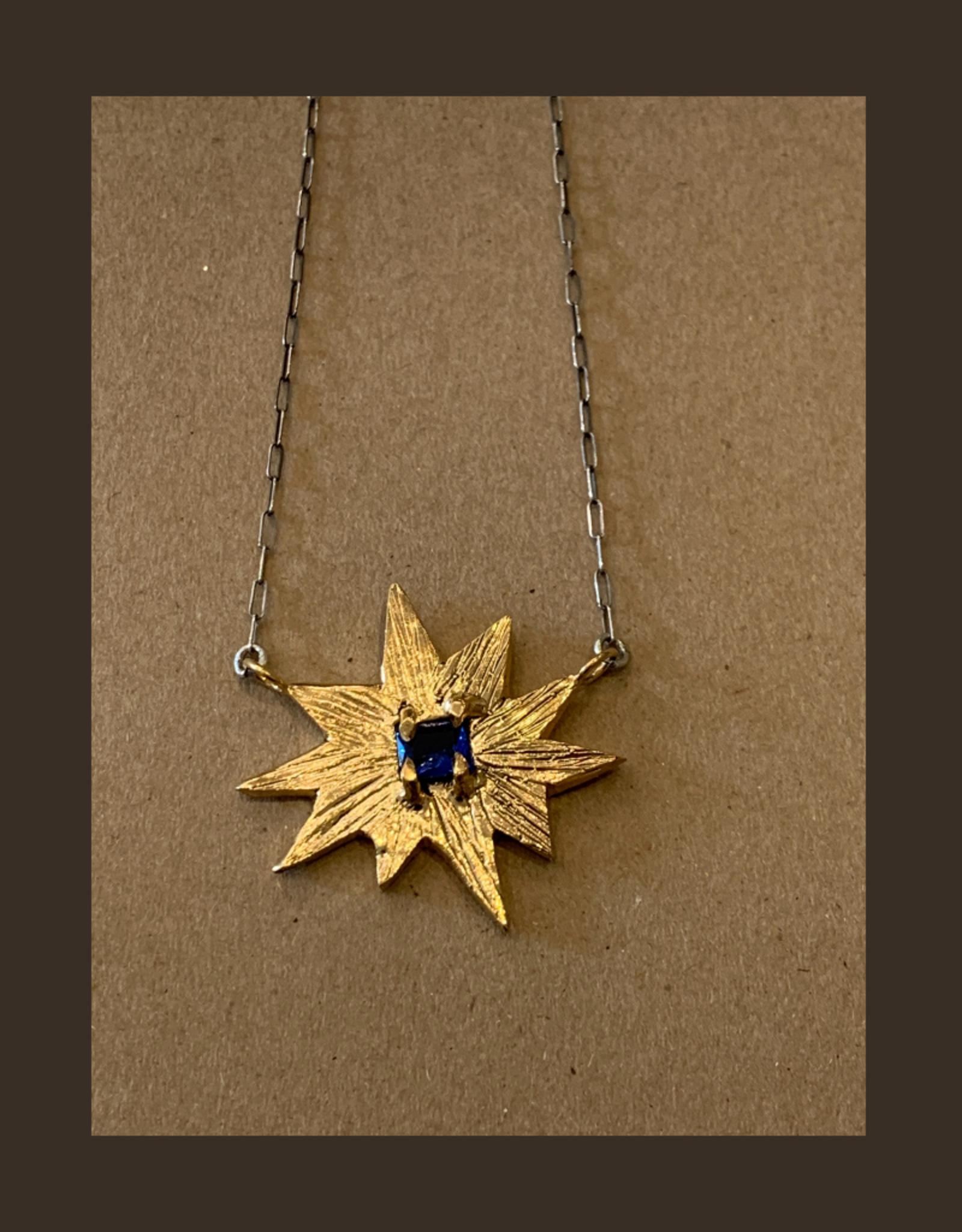 Gretchen Walker Jewelry North Star Necklace w/Blue Sapphire