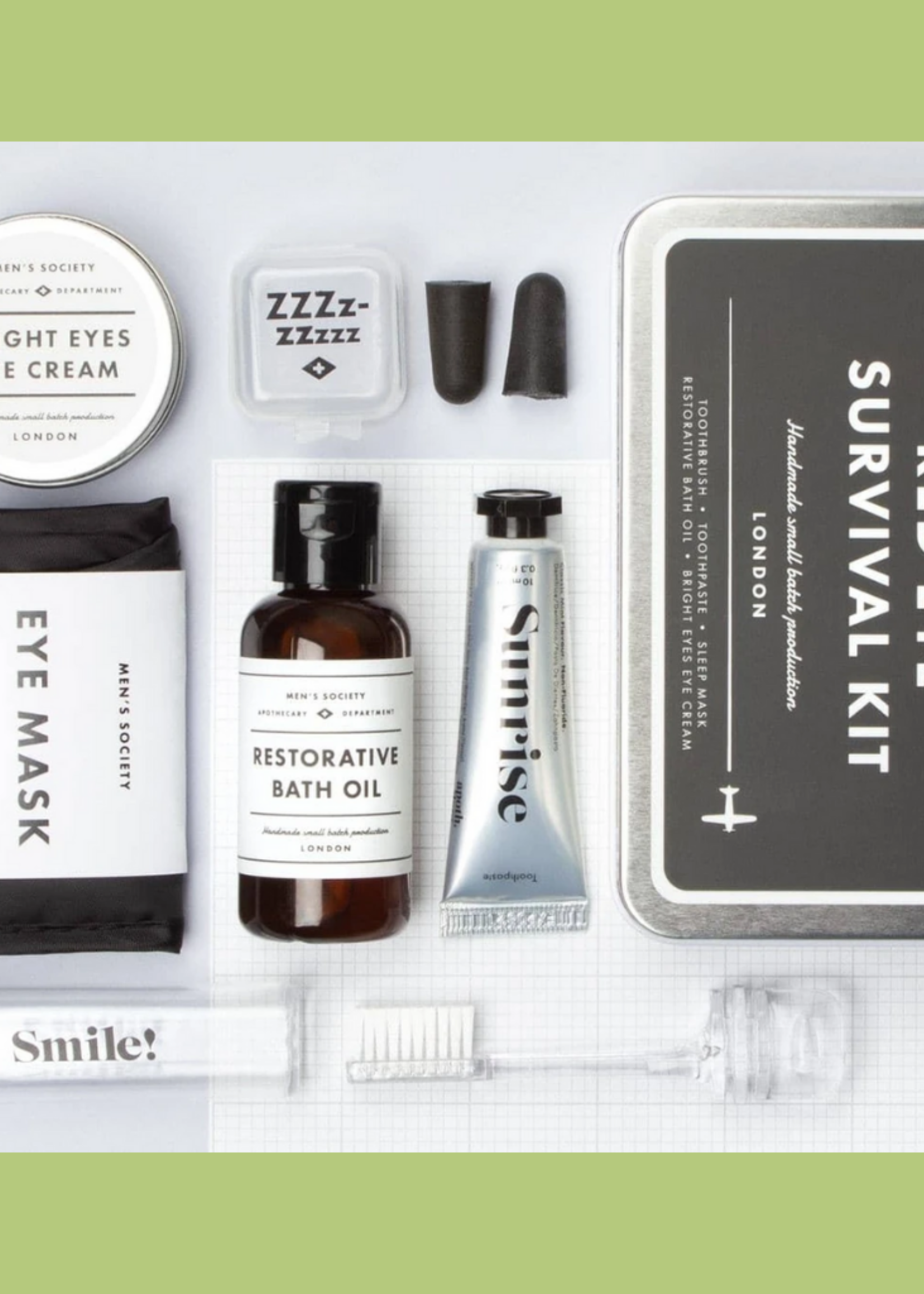 The Men's Society Red Eye Survival Kit