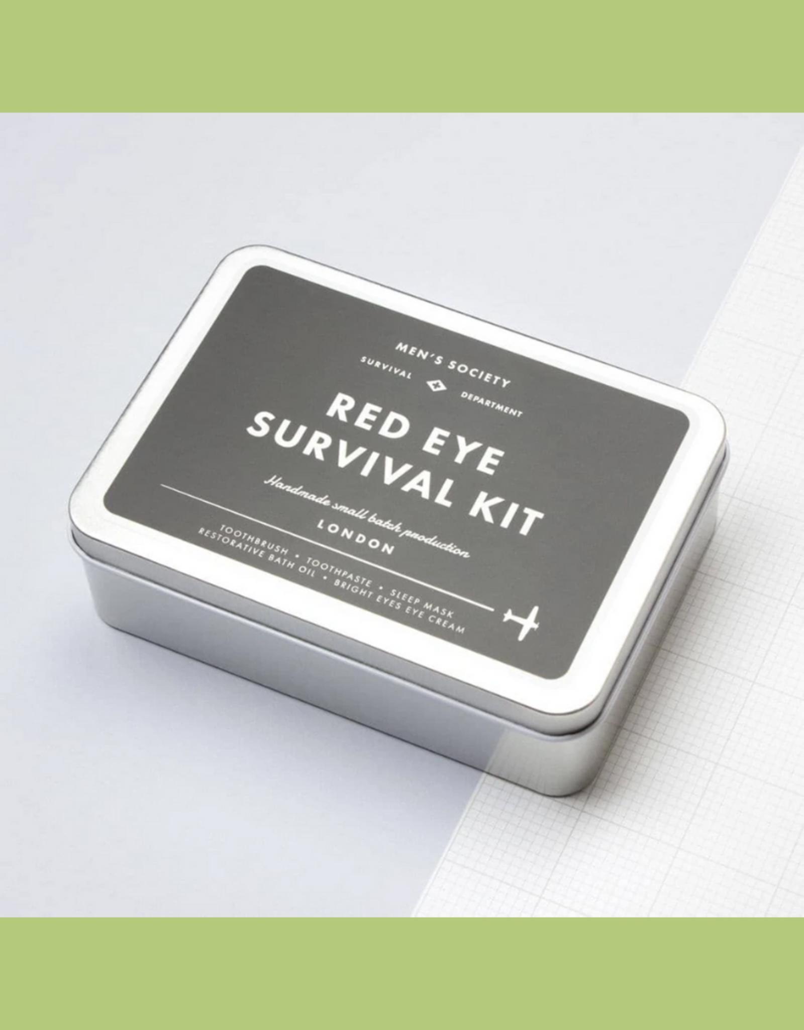 The Men's Society Red Eye Survival Kit