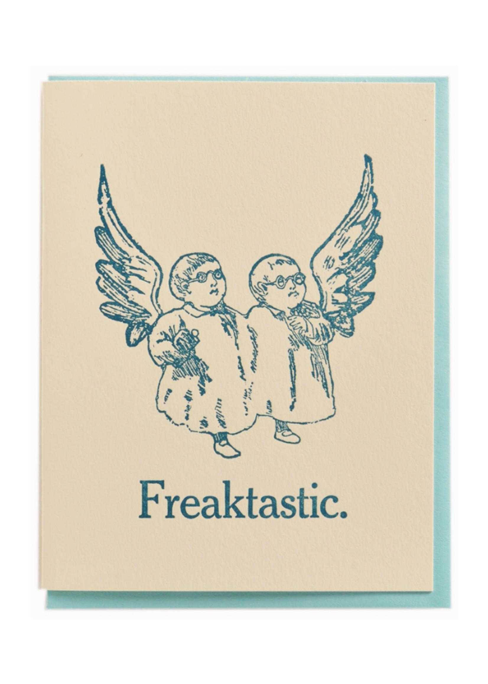 Zeichen Press Freaktastic Humorous Card