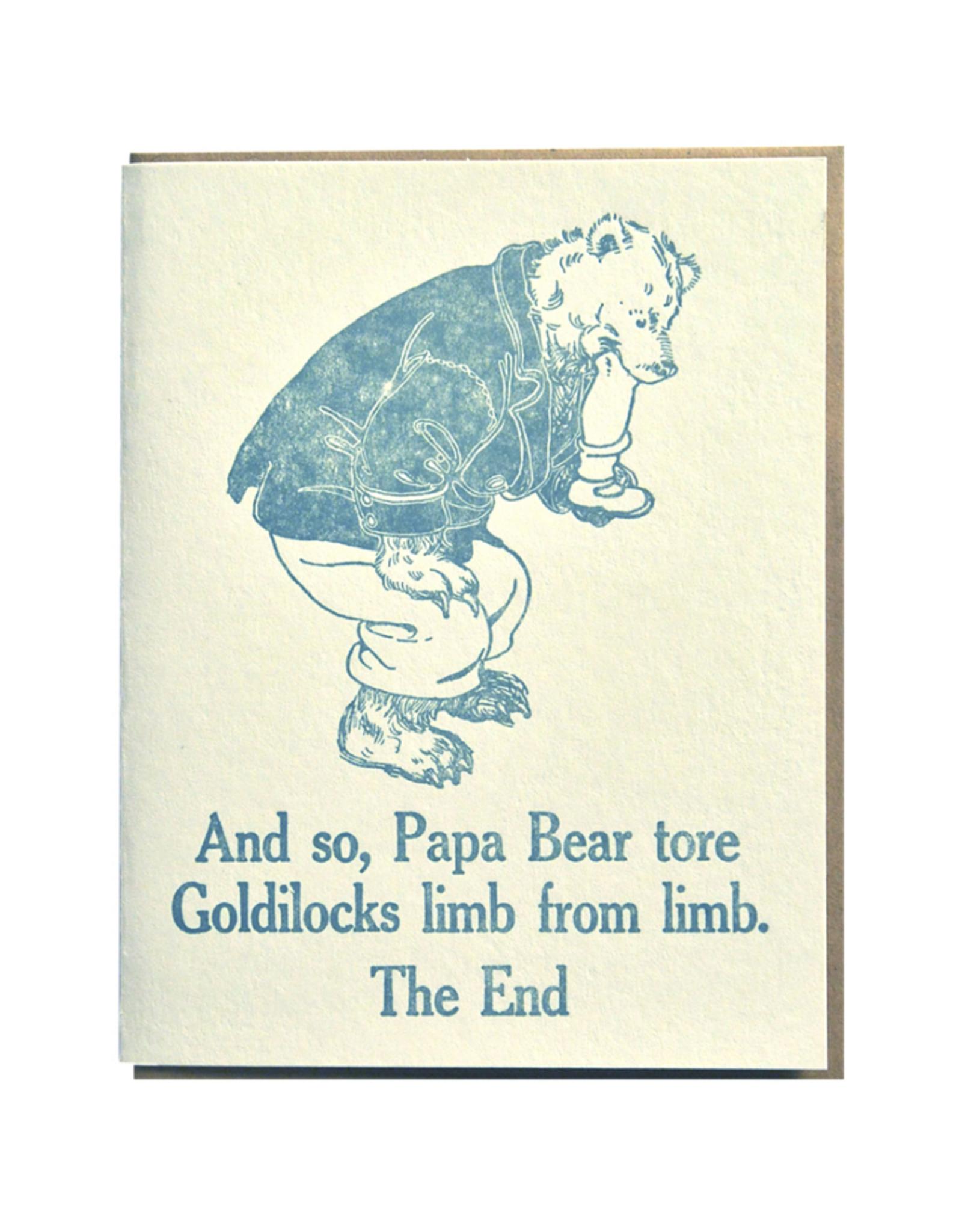 Zeichen Press Limb From Limb Humorous Card