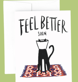 Idlewild Co. Idlewild Co. - Cat Cone Get Well Card