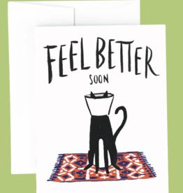 Idlewild Co. Idlewild Co. - Cat Cone Get Well Card