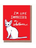 La Familia Green La Familia Green - Impressed Lulu Humorous Card