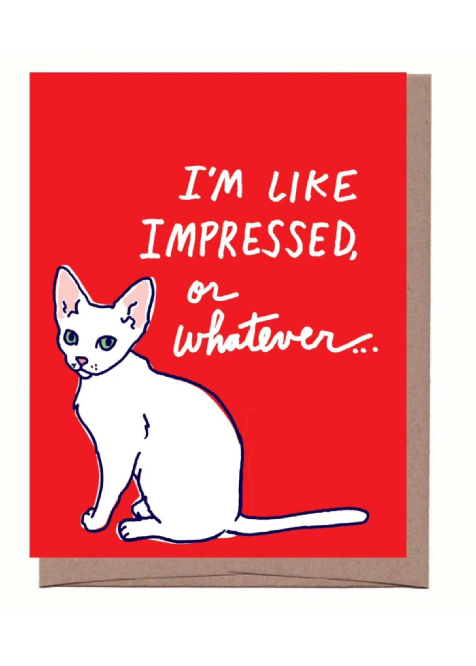 La Familia Green Impressed Lulu Humorous Card