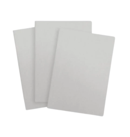 Baron Fig Baron Fig - Vanguard Softcover Blank Notebooks - Light Gray