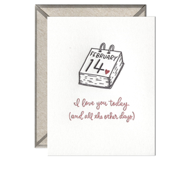 Ink Meets Paper Ink Meets Paper - Today And All Other Days Valentine's Card