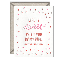 Ink Meets Paper Ink Meets Paper - Life is Sweet Valentine Card