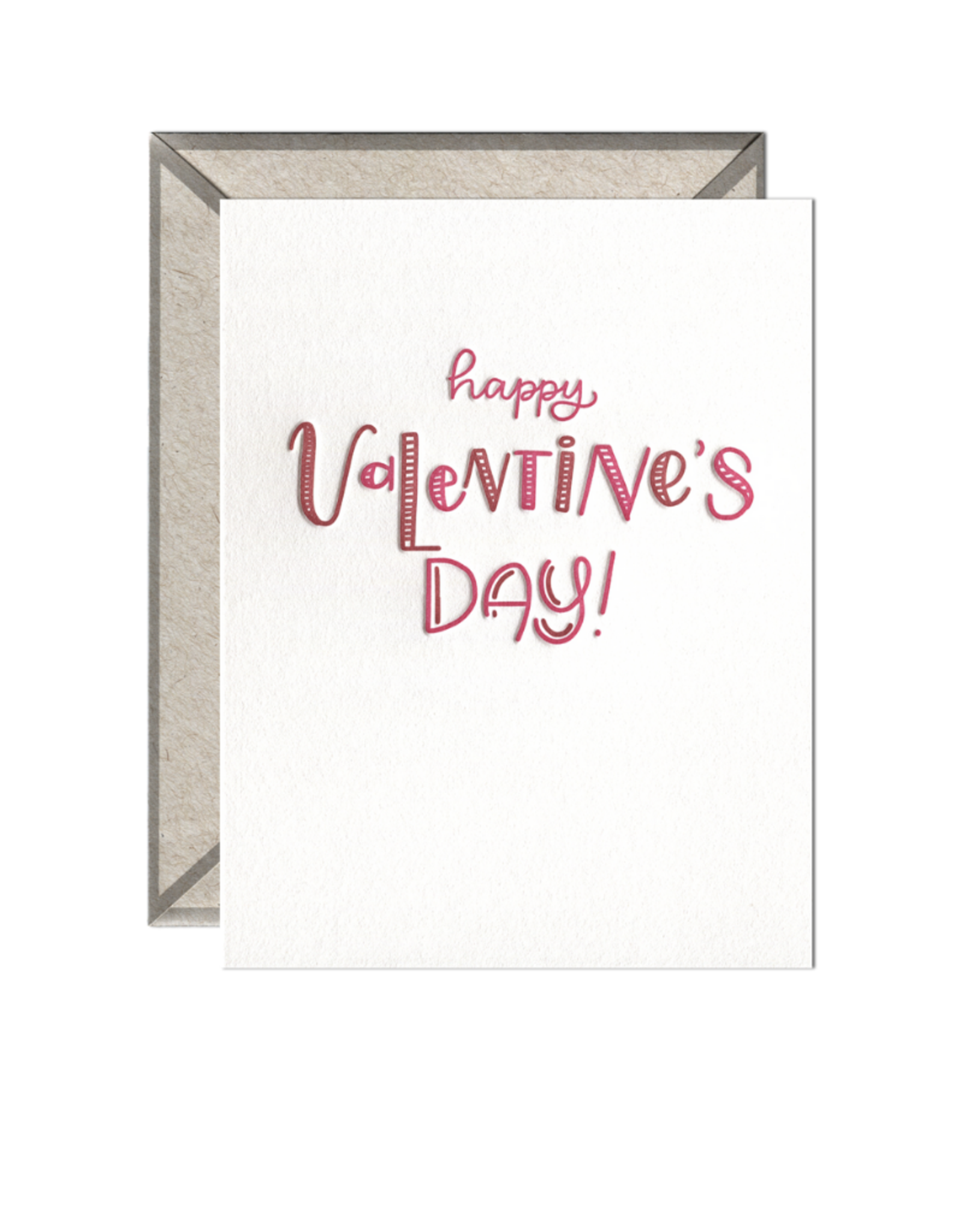 Ink Meets Paper Happy Valentine's Day Valentine's Card