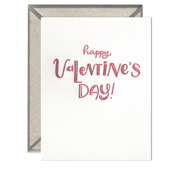 Ink Meets Paper Ink Meets Paper - Happy Valentine's Day Valentine's Card