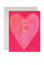 E. Frances Paper In My Heart Valentine's Card
