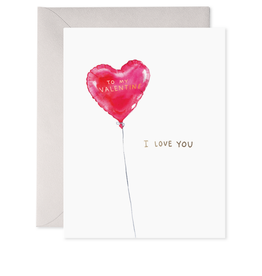 E. Frances Paper E. Frances Paper - Red Balloon Valentine's Card