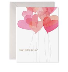 E. Frances Paper E. Frances Paper - Valentine Balloons Card