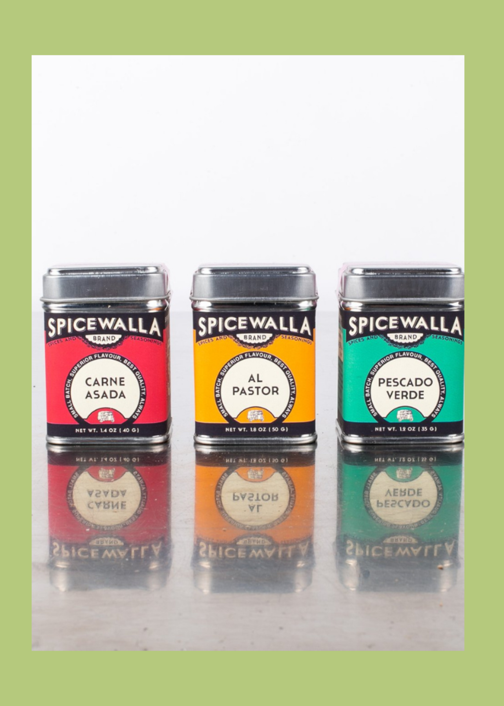 Spicewalla 3 Pack Taco Spice Collection