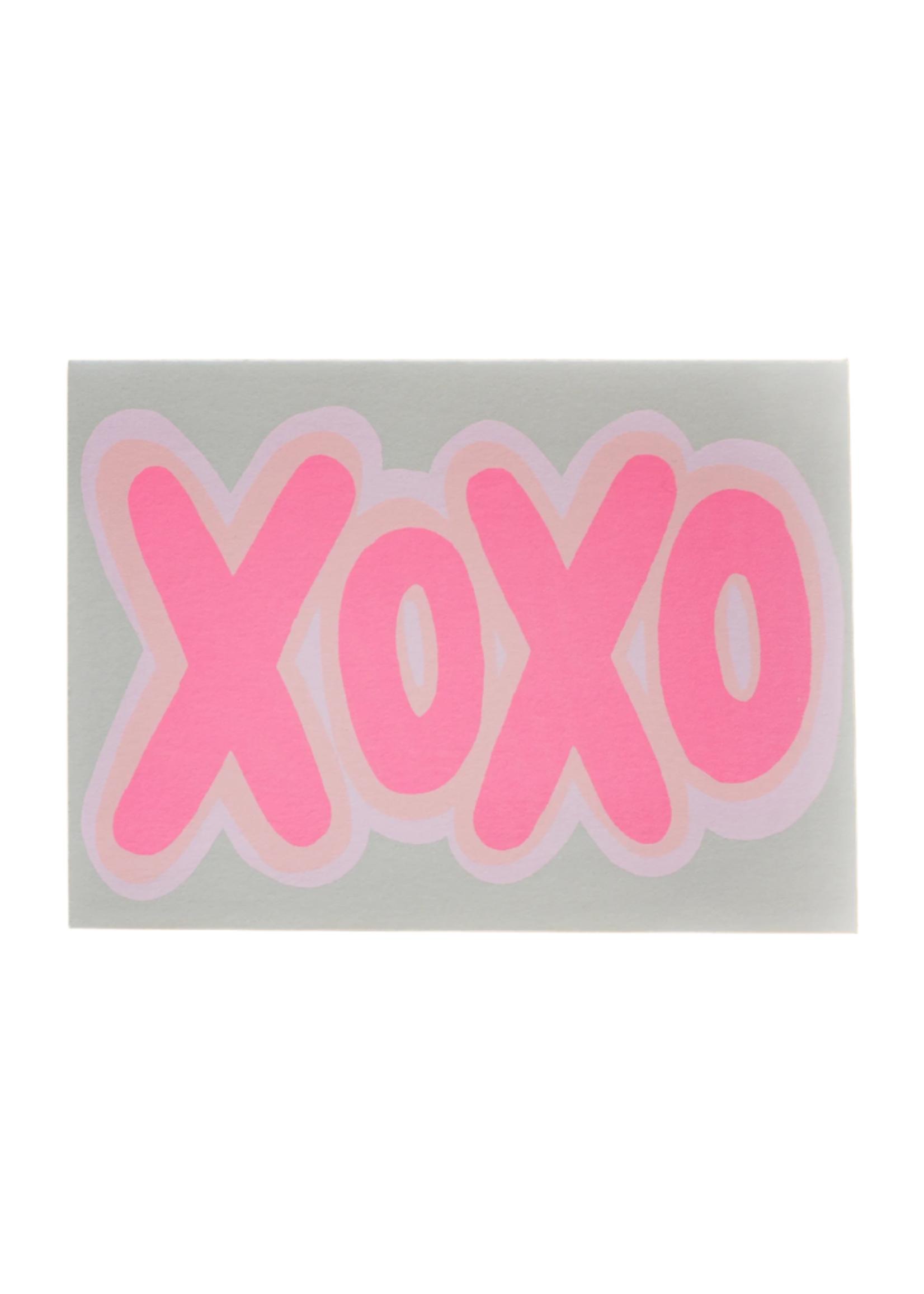 Gold Teeth Brooklyn XOXO Shadow Love  Card