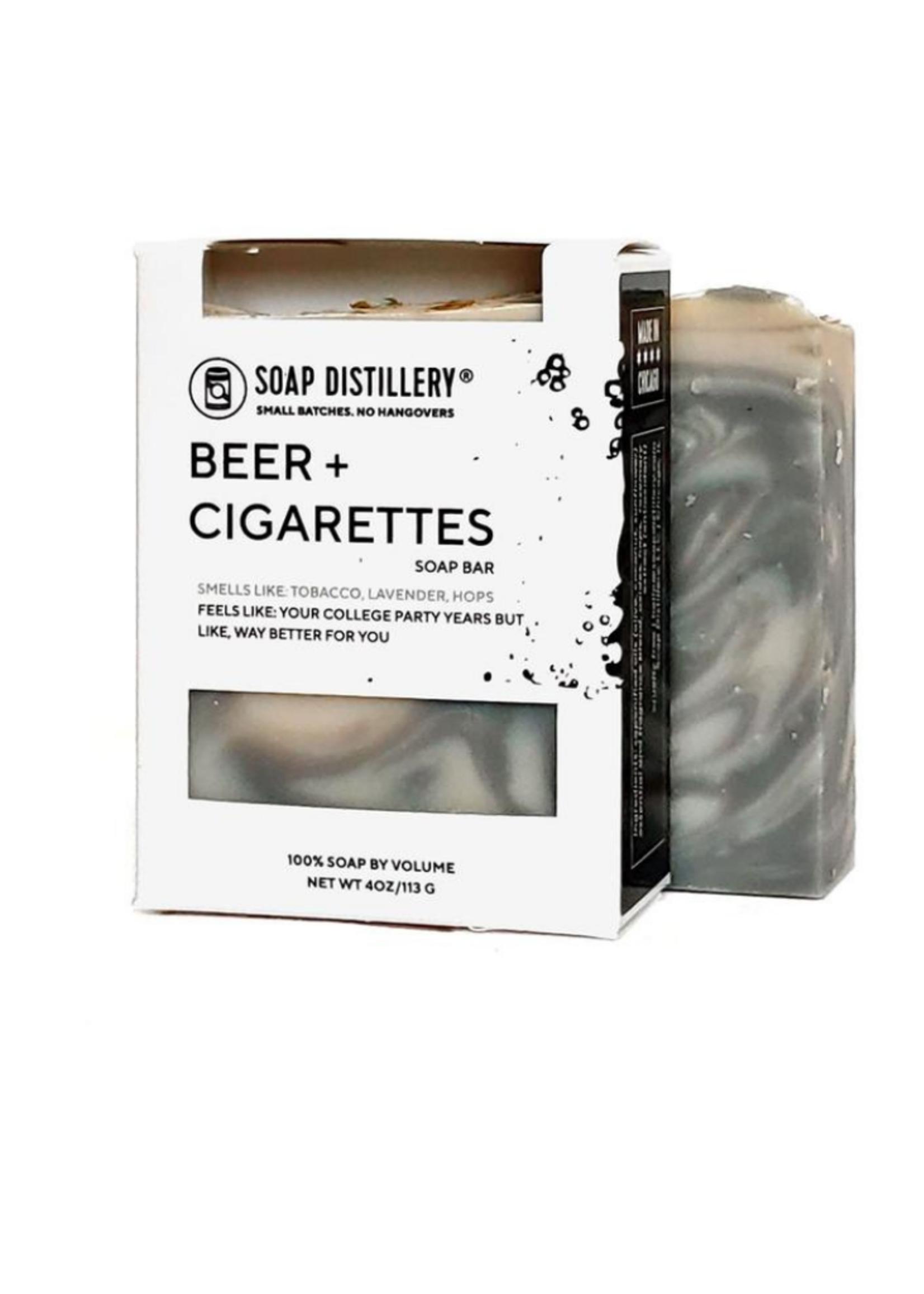 Beer+Cigarettes Soap Bar