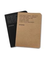 Apuntes Apuntes Pocket Notebooks Minagris+Negro