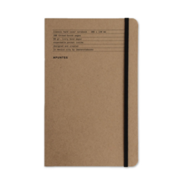 Apuntes Apuntes Hard Cover Lined Basico Jute