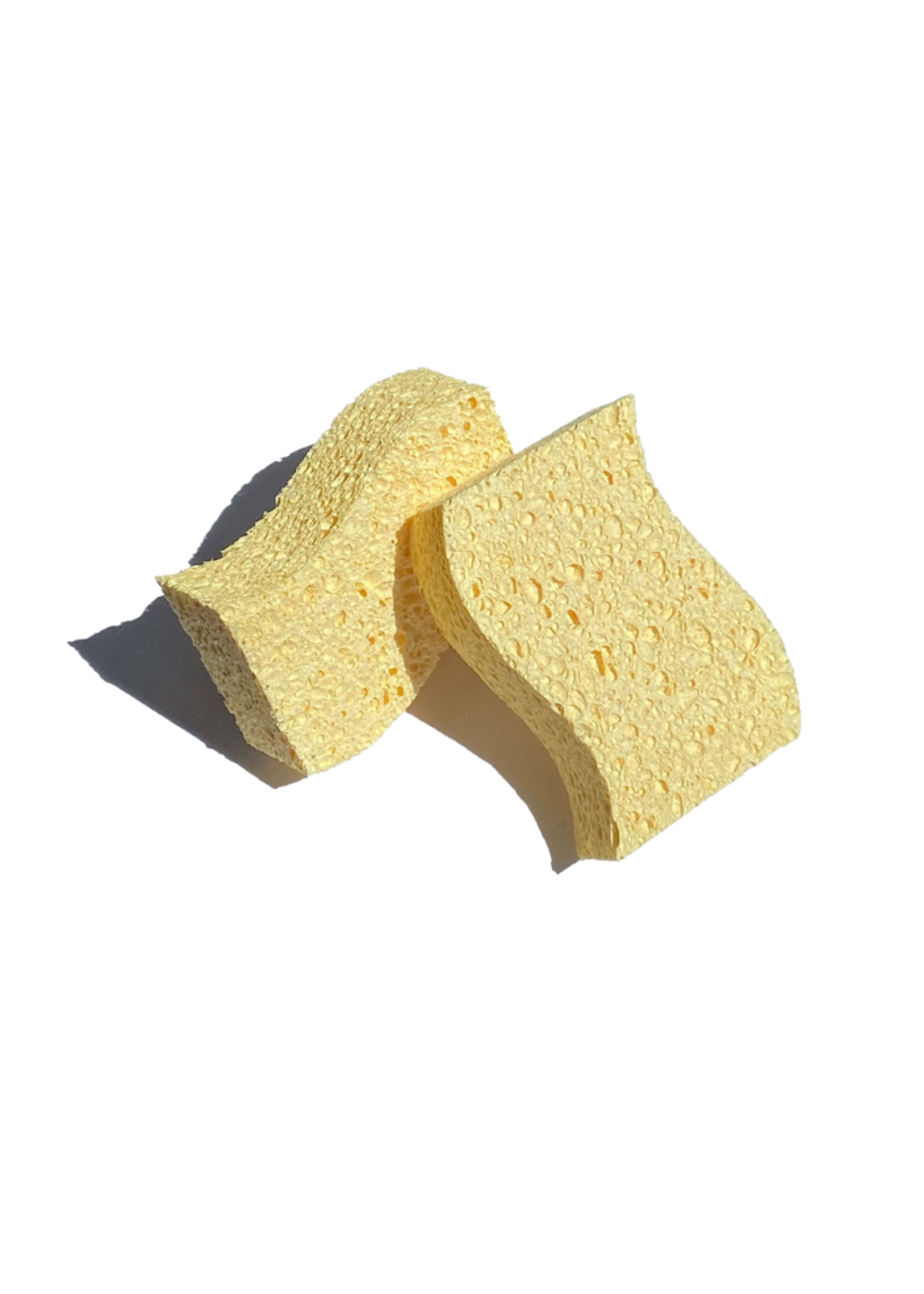 Zero Waste Club Biodegradable Kitchen Sponges - Pack of 2