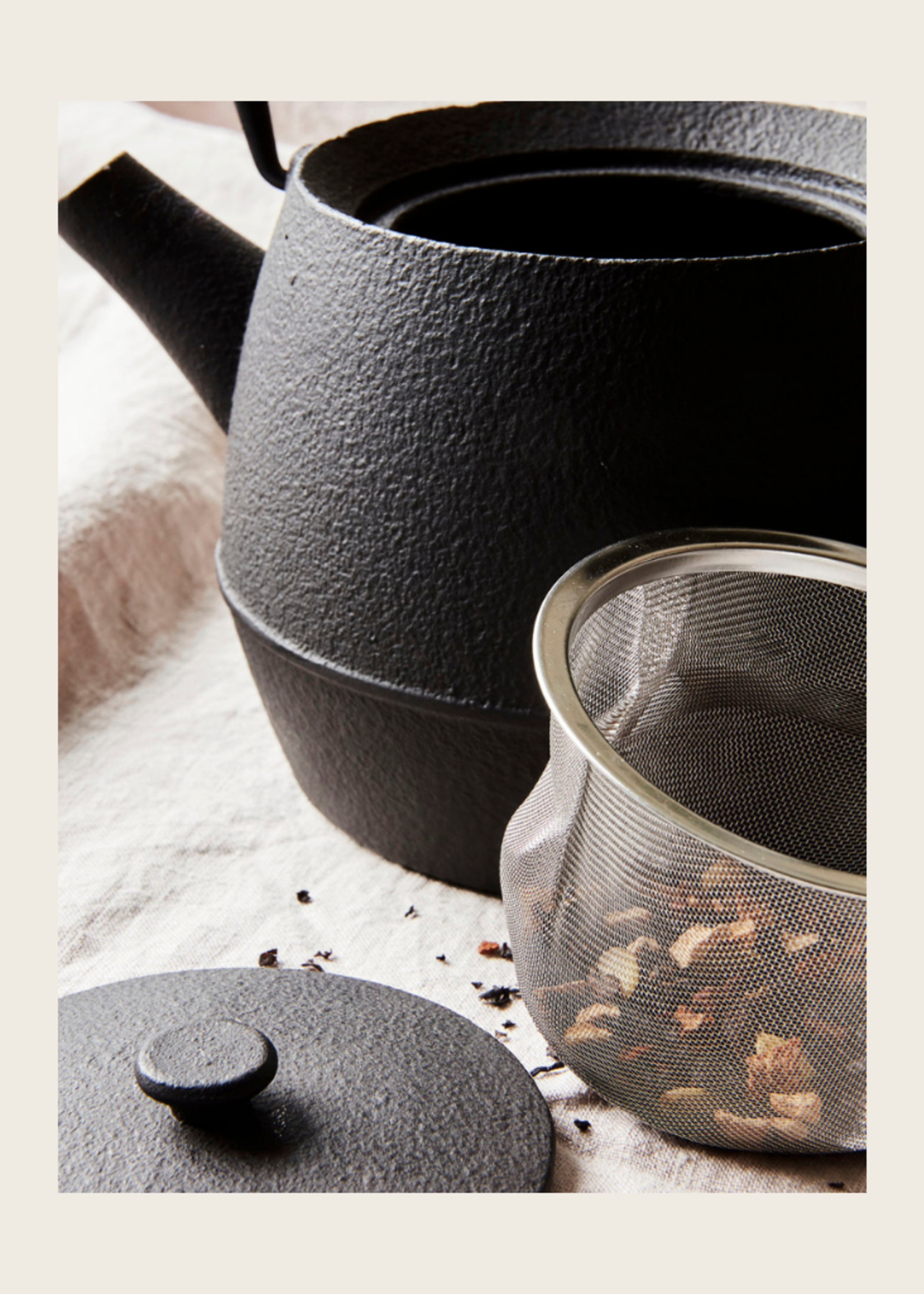 Society of Lifestyle Cast Iron Tea Pot