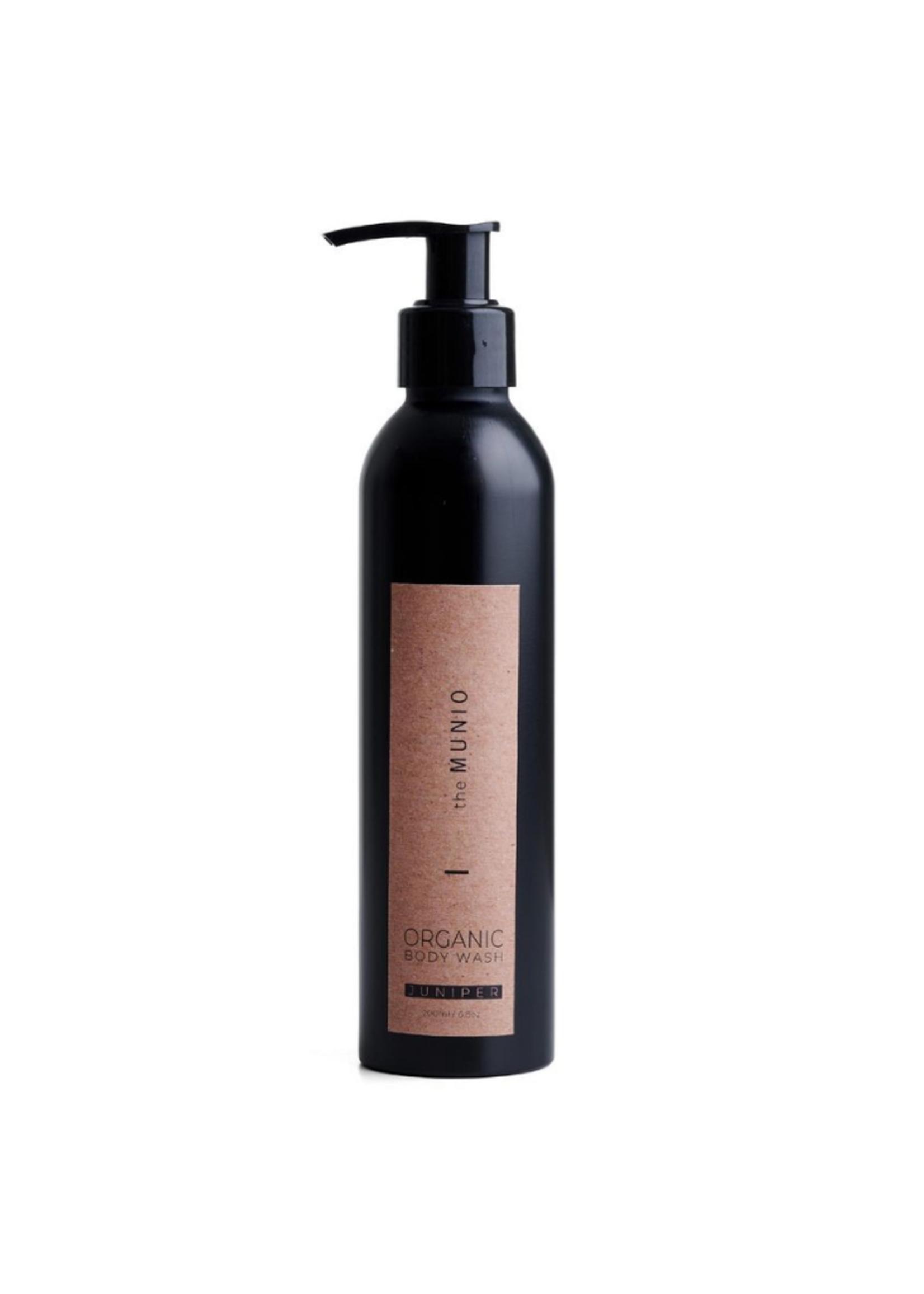 The Munio Juniper Organic Body Wash