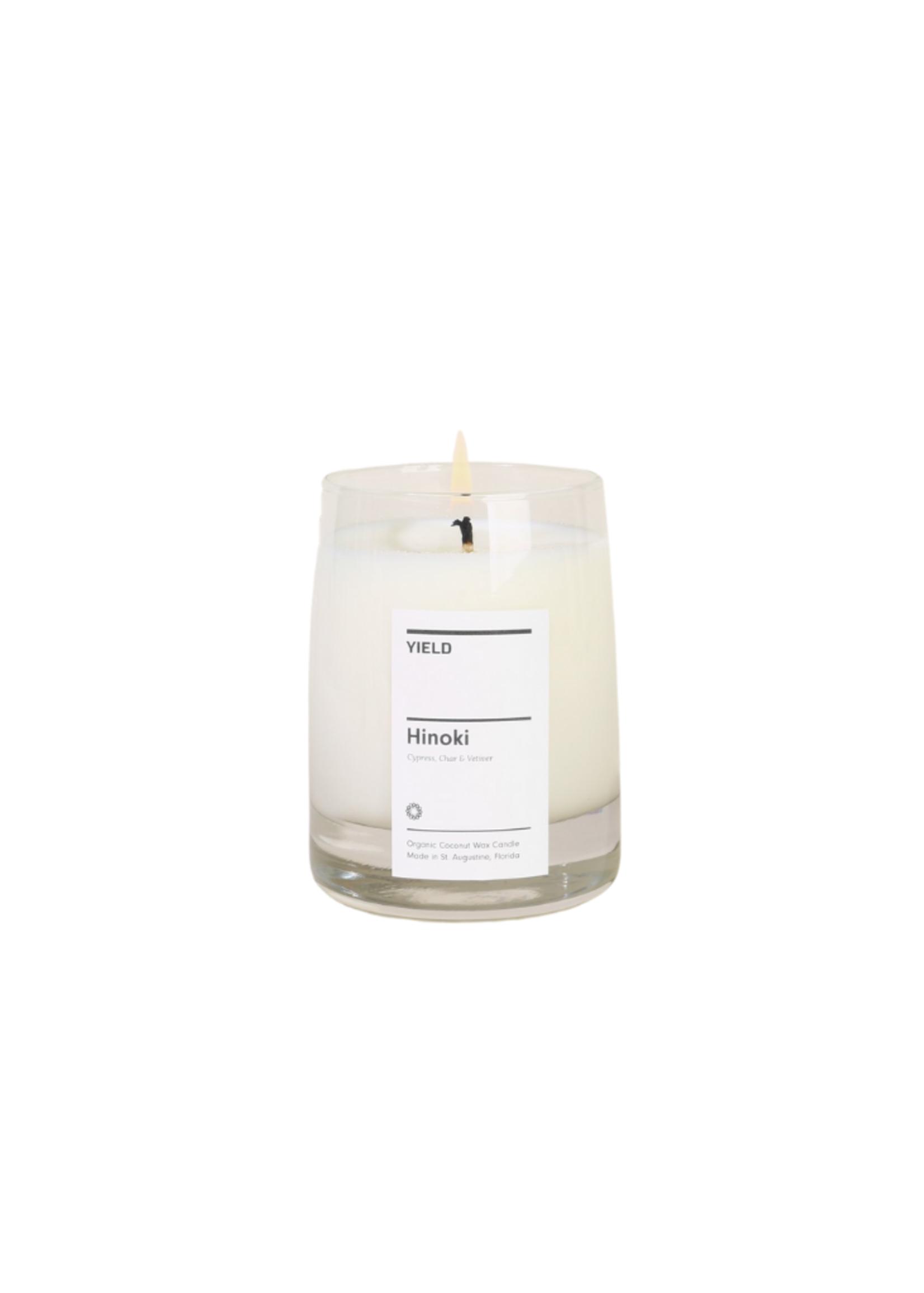 Yield Design Co Hinoki Candle