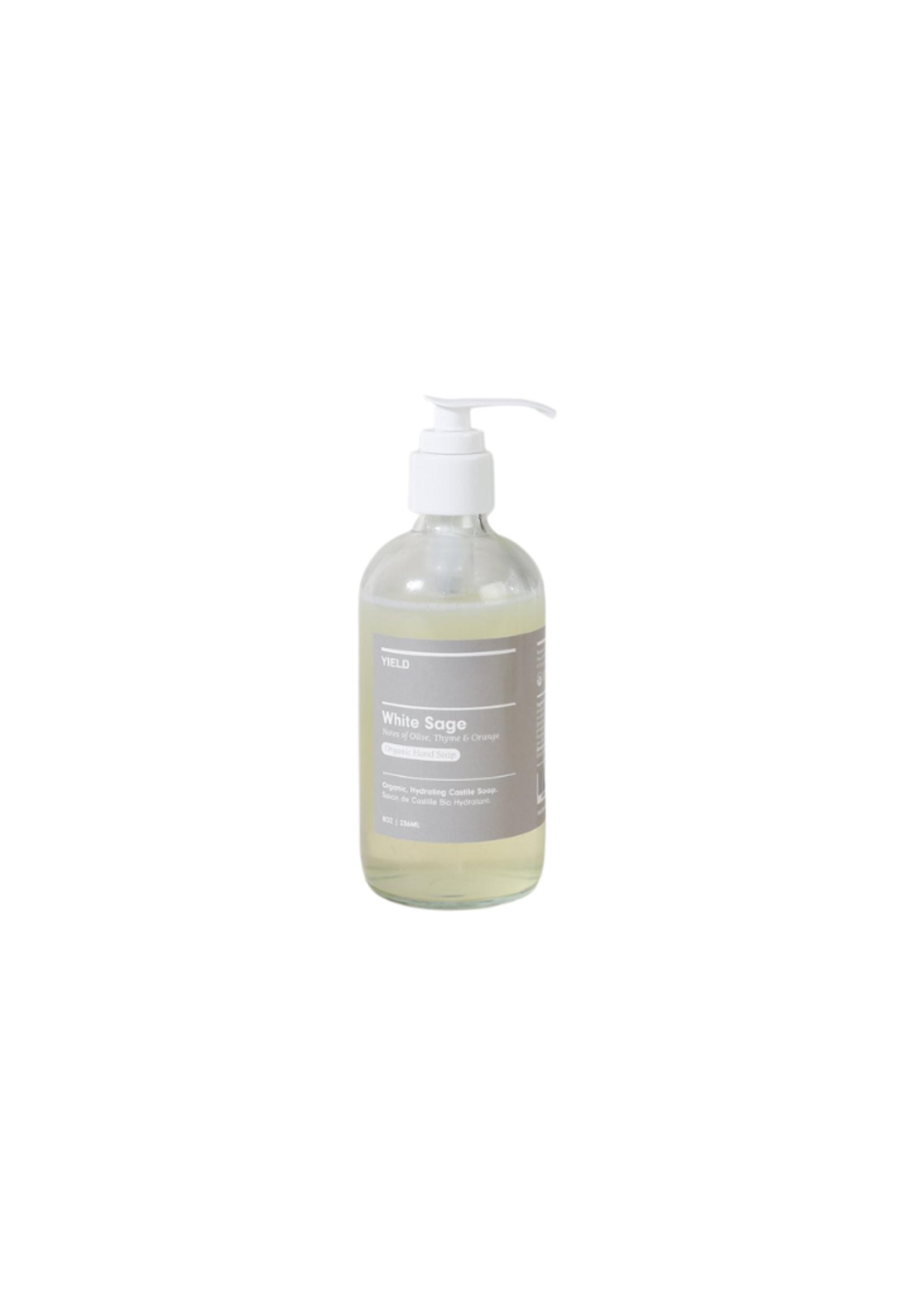 Yield Design Co White Sage Organic Hand Soap - 8oz Bottle