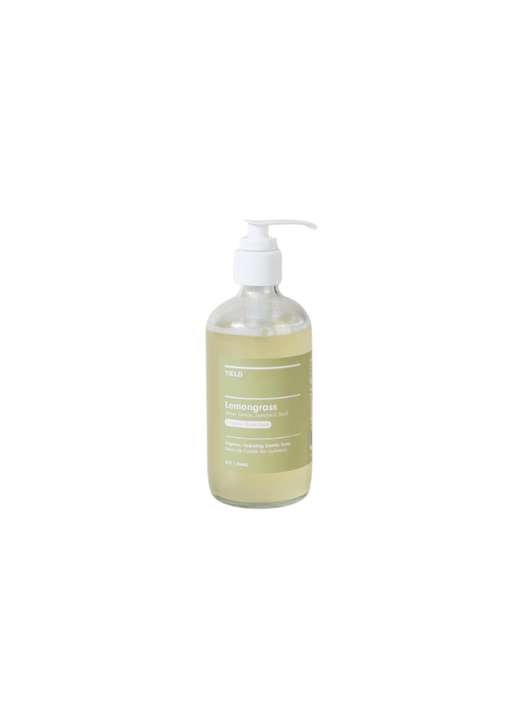 Yield Design Co Lemongrass Organic Hand Soap - 8oz Bottle
