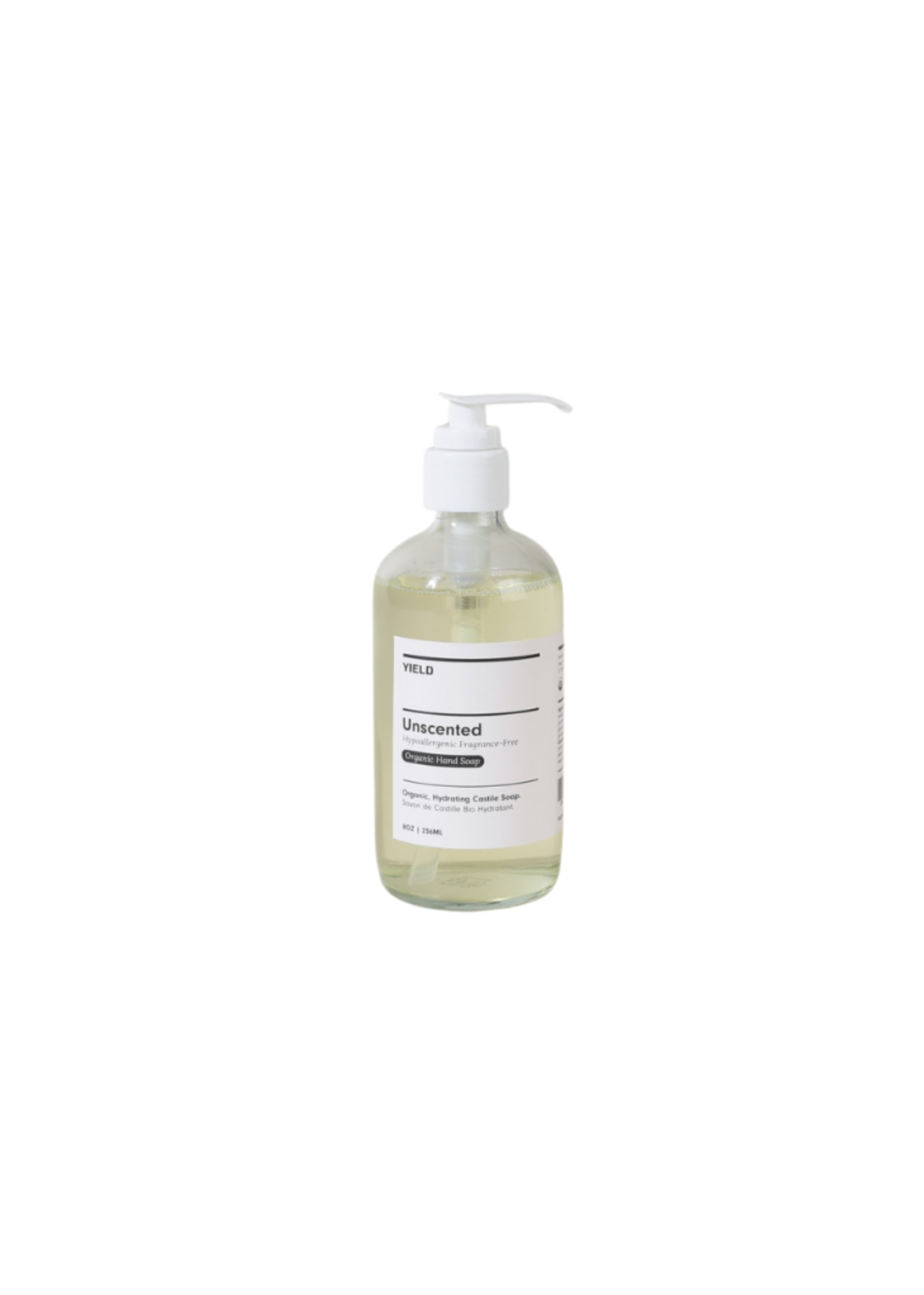 Yield Design Co Unscented Organic Hand Soap - 8oz Bottle
