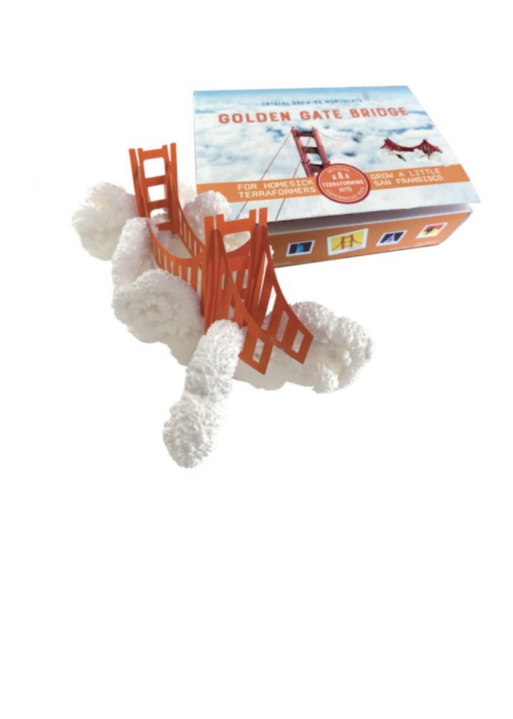 Copernicus Toys Crystal Growing Golden Gate Bridge
