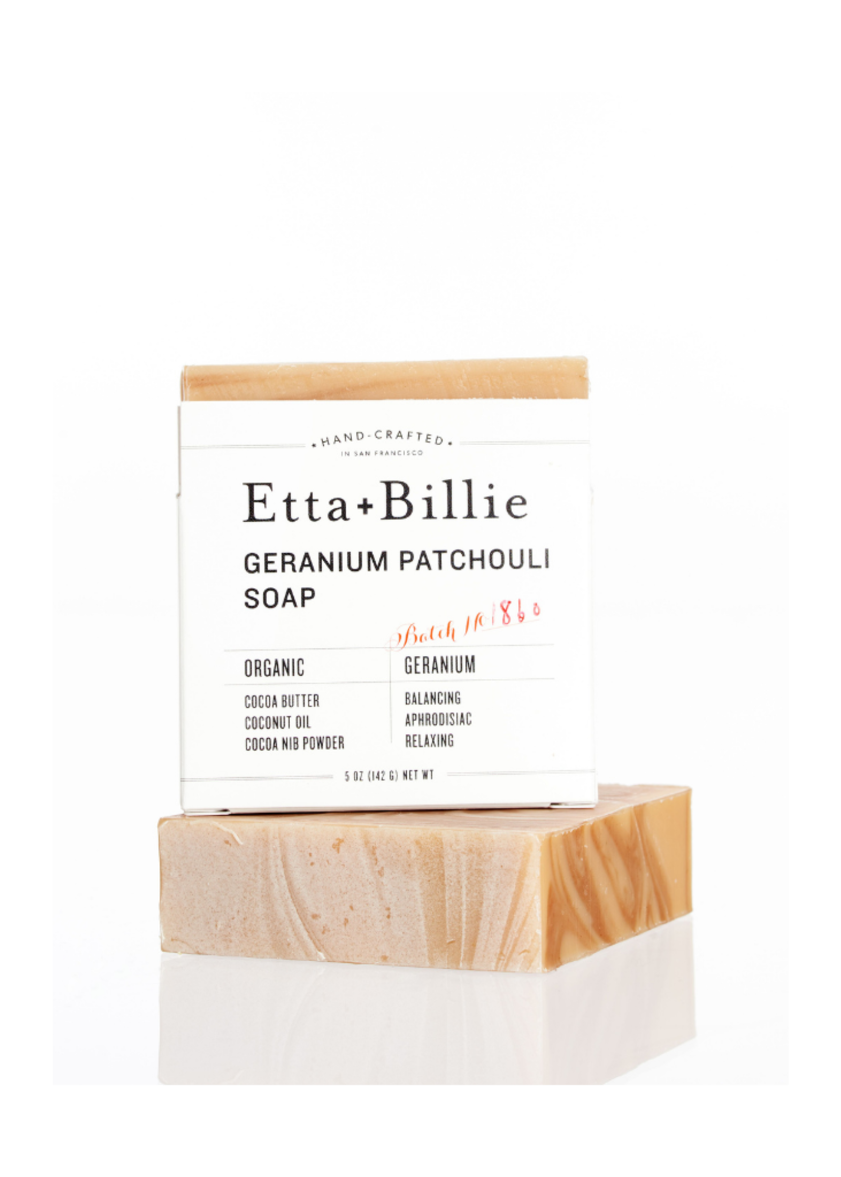 Etta+Billie Etta + Billie Geranium Patchouli Soap