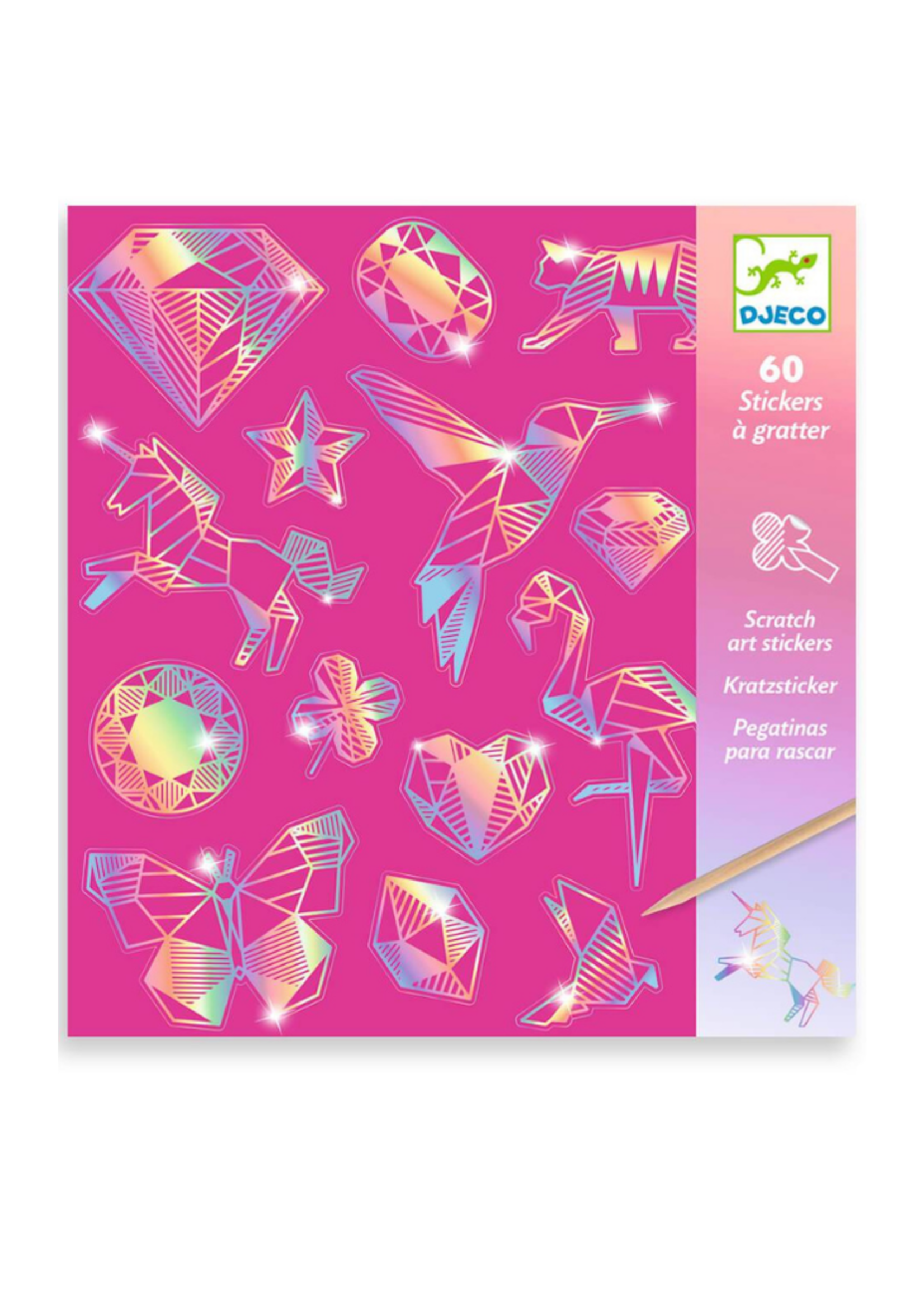 Djeco Djeco Diamond  Holographic Stickers
