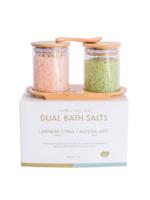 Yuzu Soap Dual Bath Fizz Set - Lavender Citrus/Matcha Mint