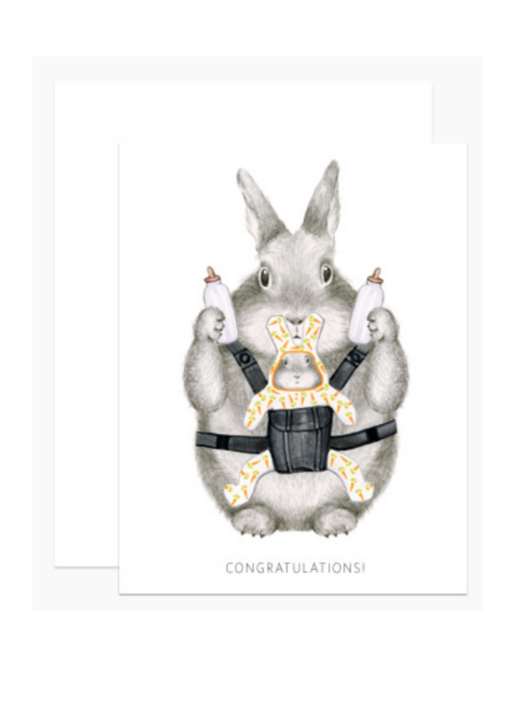 Dear Hancock Baby Dear Hancock Congrats Bunny