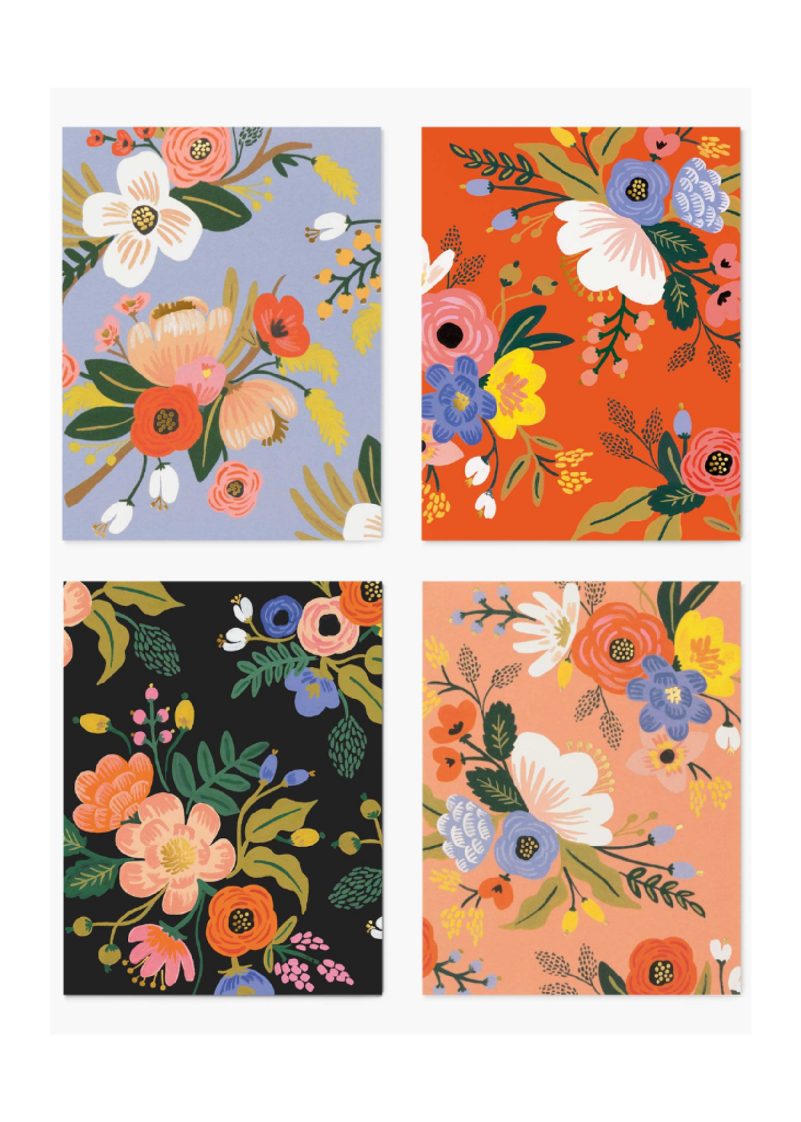 Rifle Paper Co. Assorted Lively Floral Set