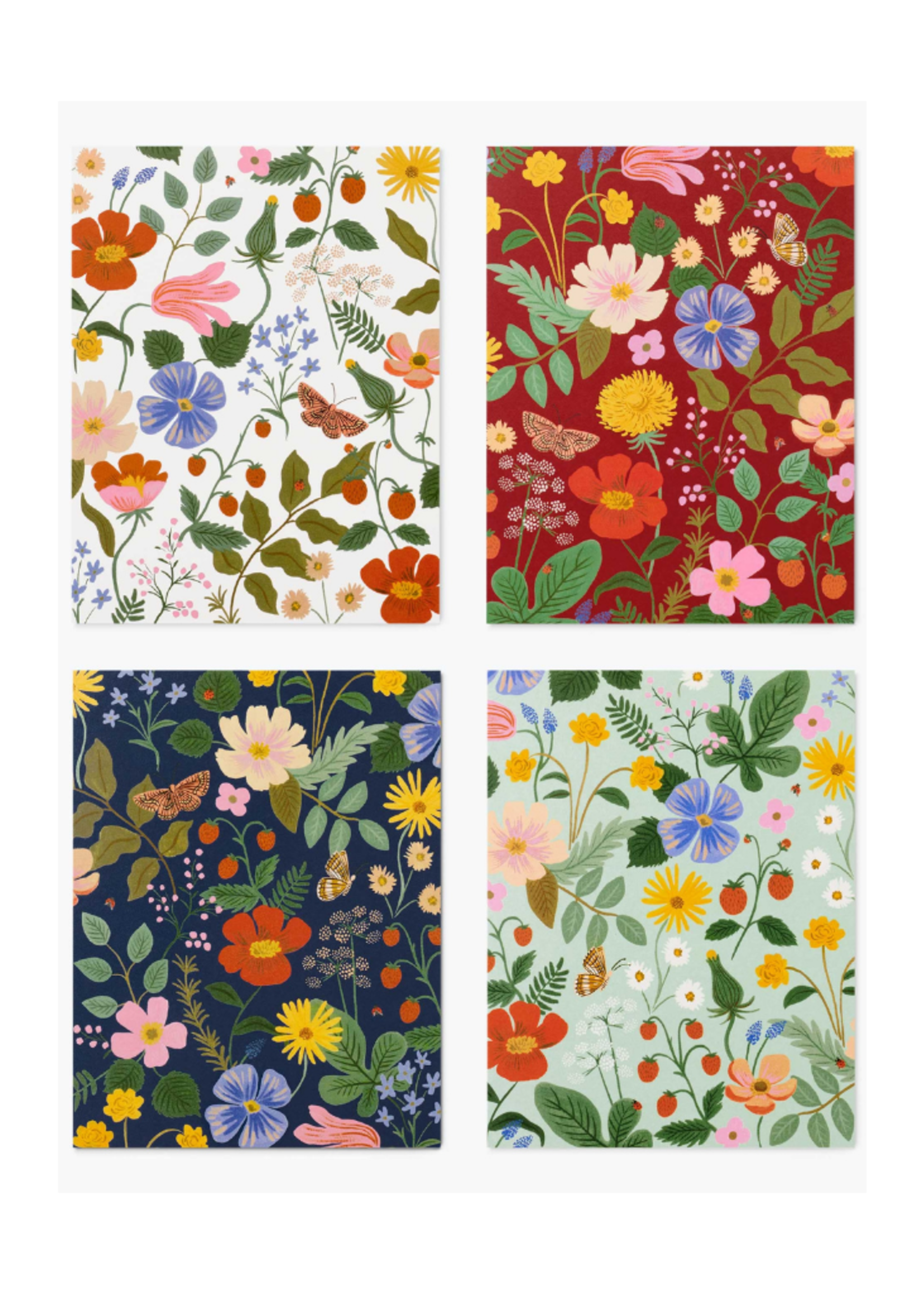Rifle Paper Co. Assorted Strawberry Fields Set