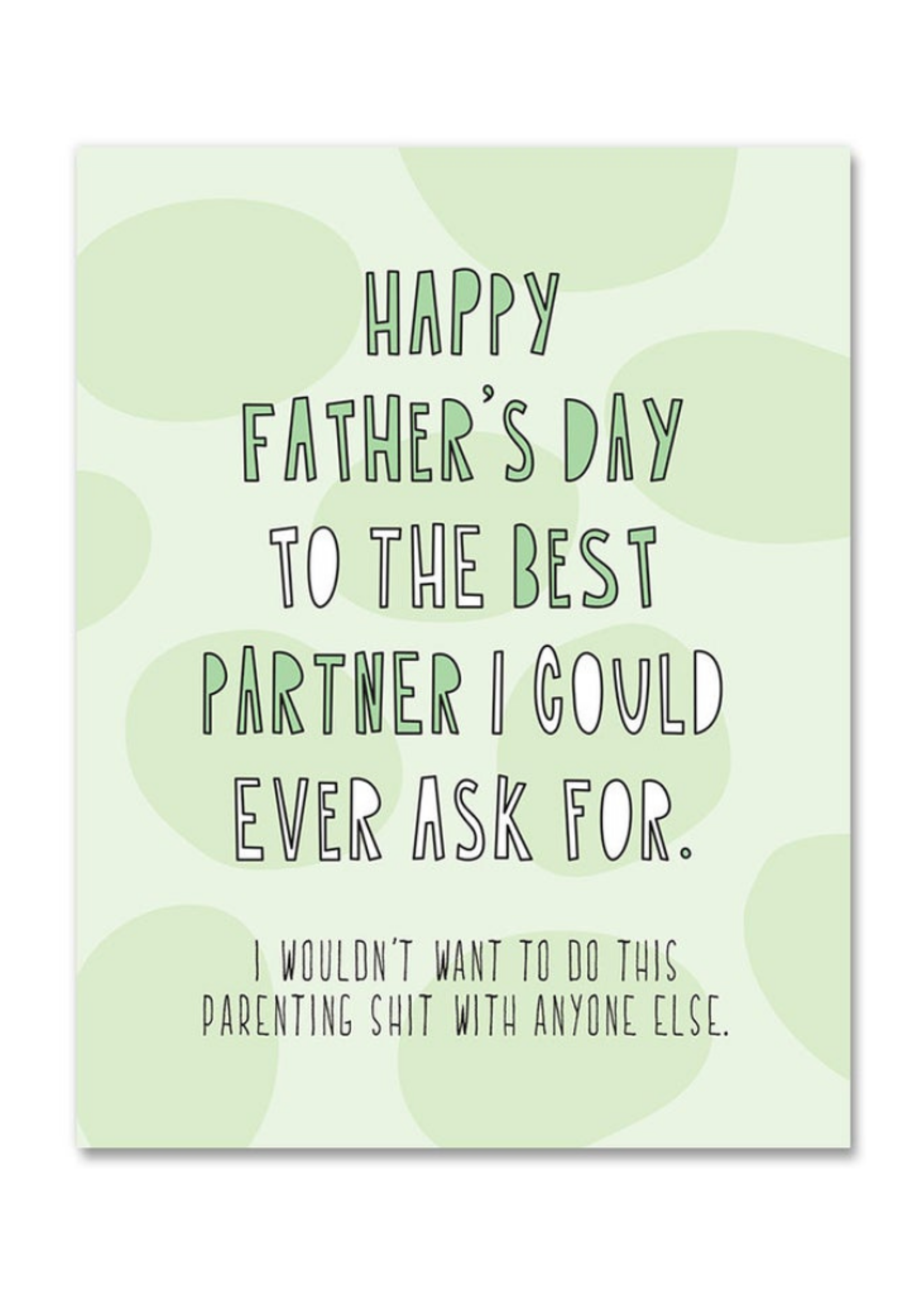 Near Modern Disaster Best Partner Father's Day