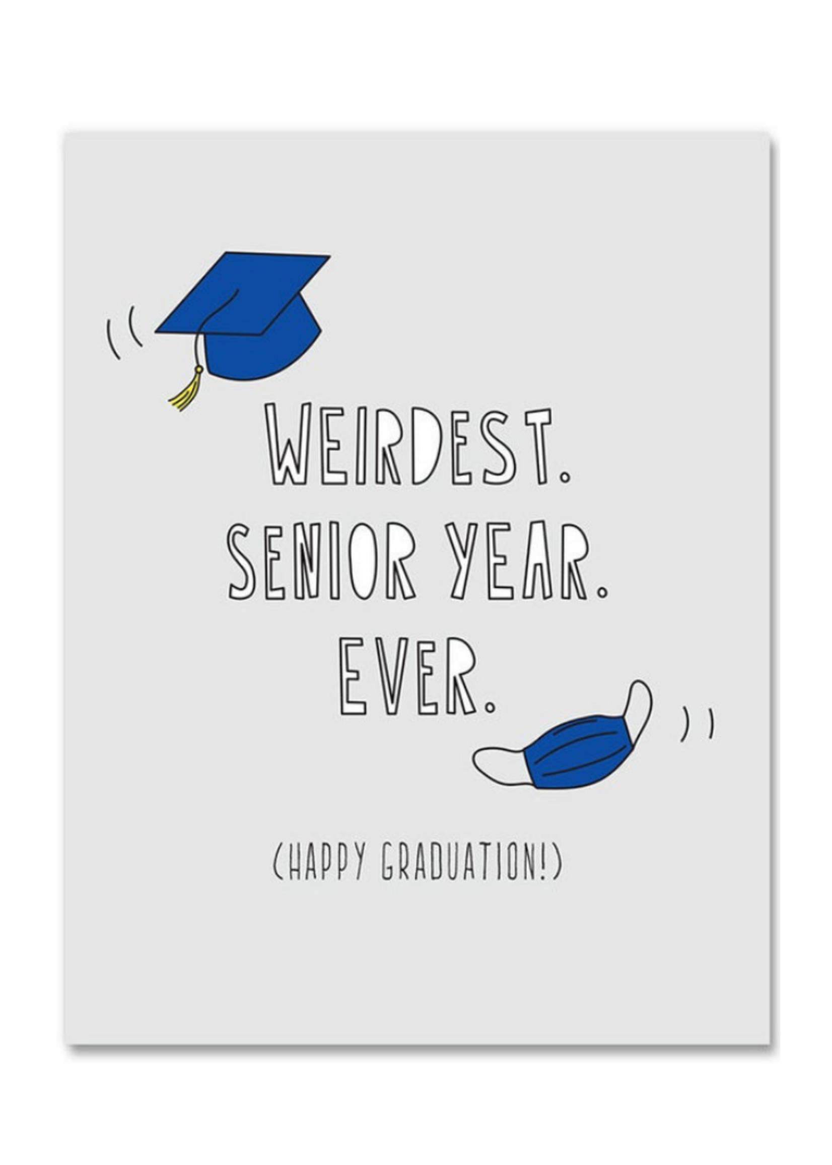 Near Modern Disaster Weirdest Senior Year