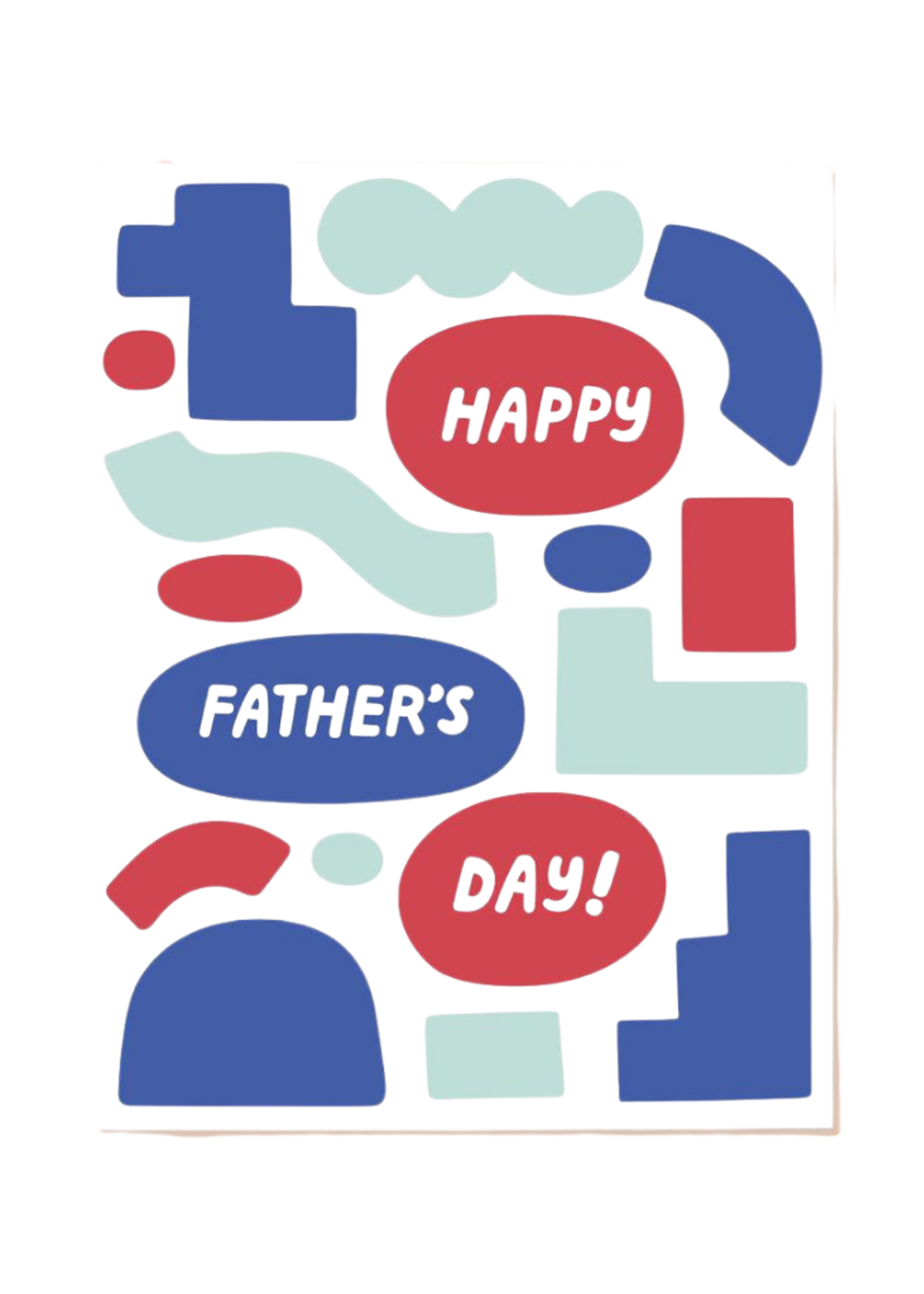 The Good Twin Father's Day Shapes