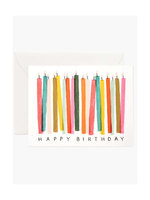 Rifle Paper Co. Rifle Paper Co. Birthday Candle Card